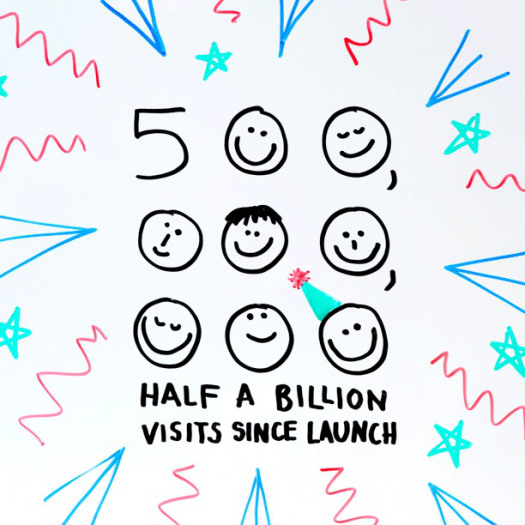 Half a billion views on GOV.UK