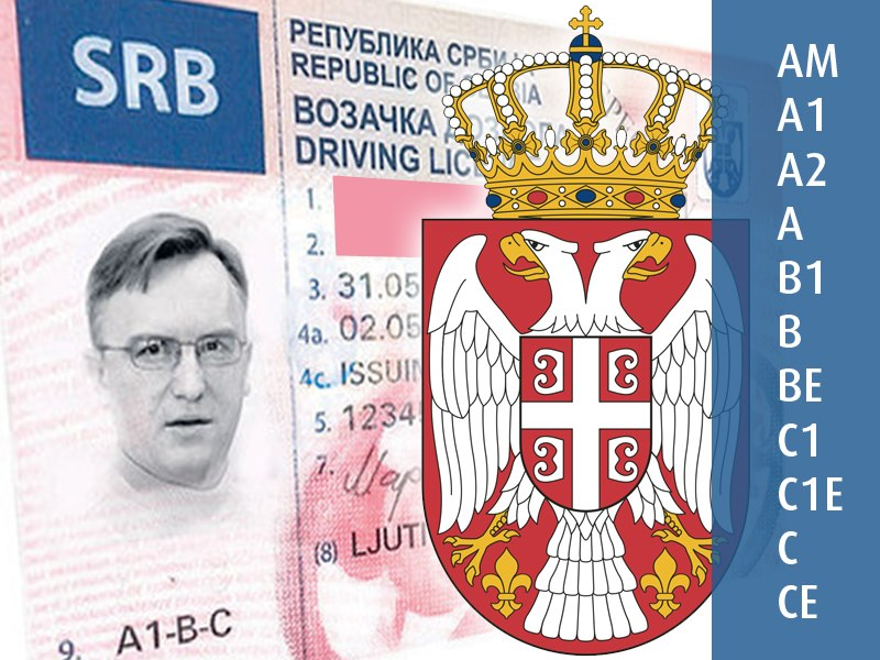 Digital Government in SERBIA Replace your paper driver's licence with new via Internet
