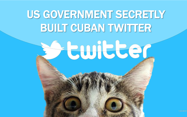 """BIDD  Theme this week""    U.S. secretly built Cuban 'Twitter' to stir unrest"