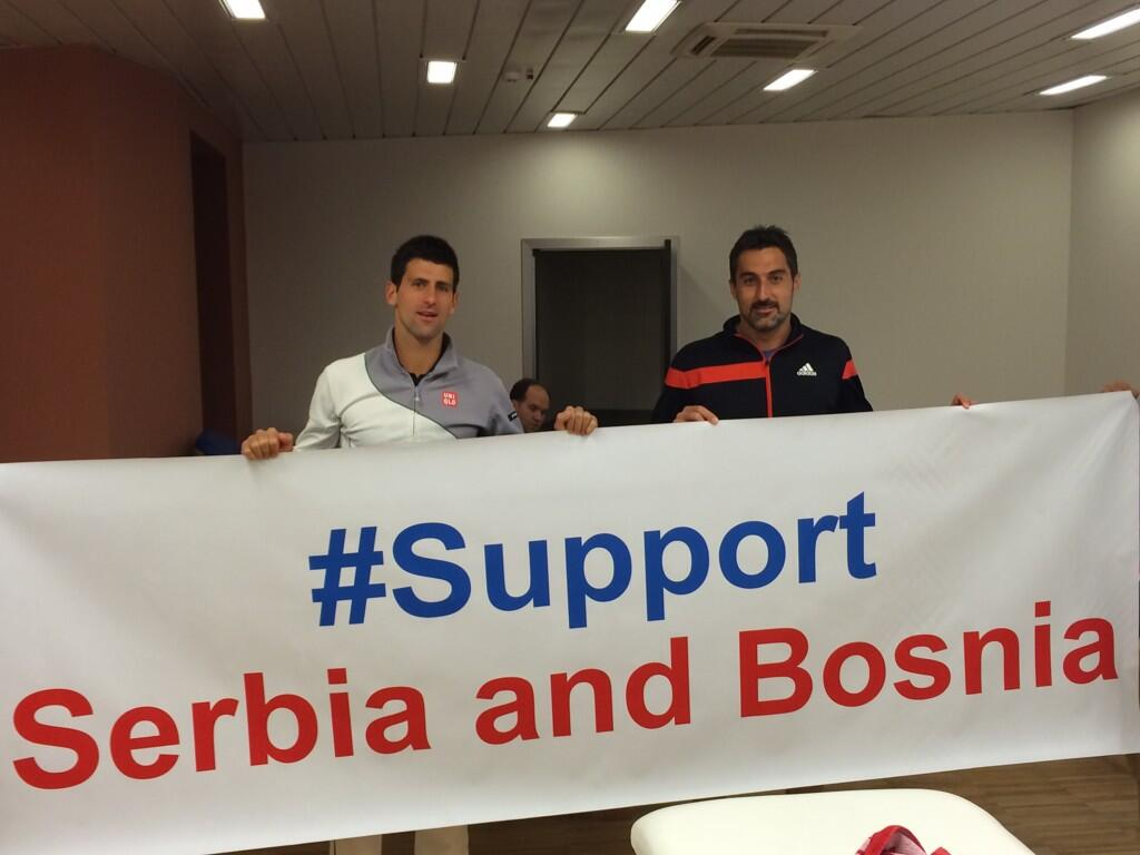 Support and solidarity for my people in Serbia!