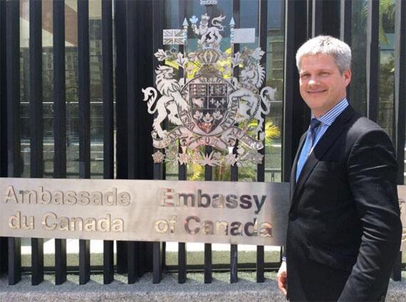 Canadian Ambassador to Venezuela Talks Digital Diplomacy