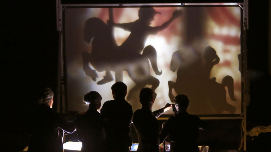 PUPPET Diplomacy   American artists practice a little shadow puppet diplomacy in Iran
