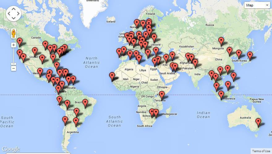 Canada has more than 100 missions active on social media!