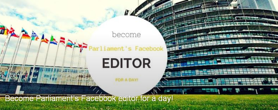 "BIDD welcome and suggest ""Become Parliament's Facebook editor for a day!"""