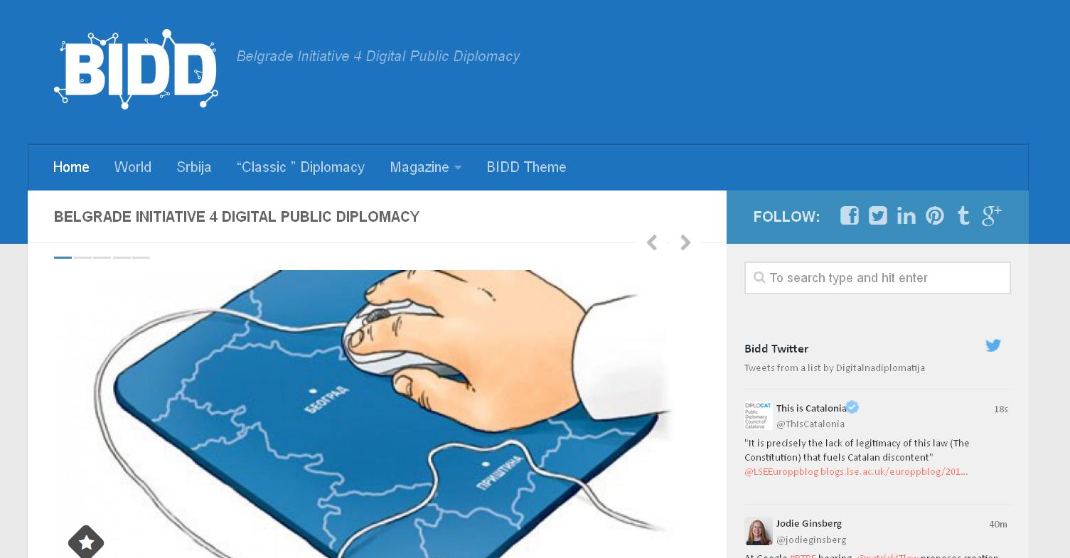 Šta je digitalna diplomatija i kako se može primeniti u Srbiji