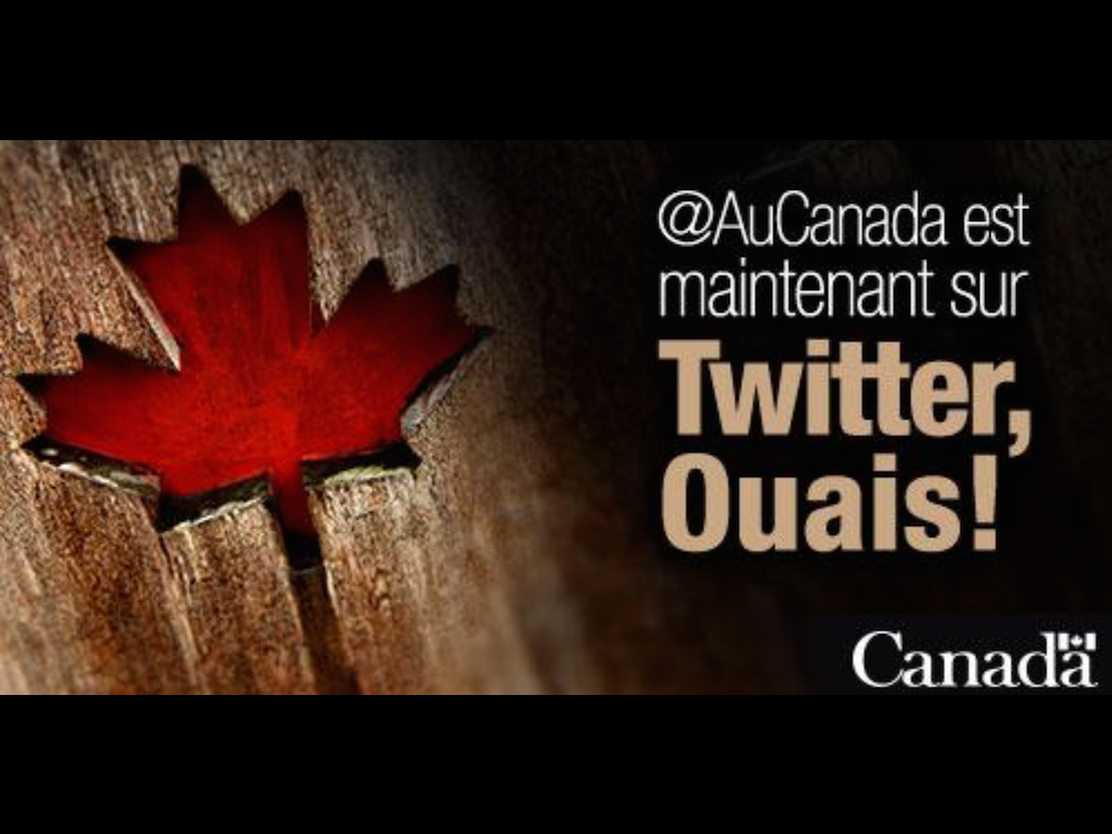 Celine Cooper: Canada joins Twitter, causes – what else? – language controversy