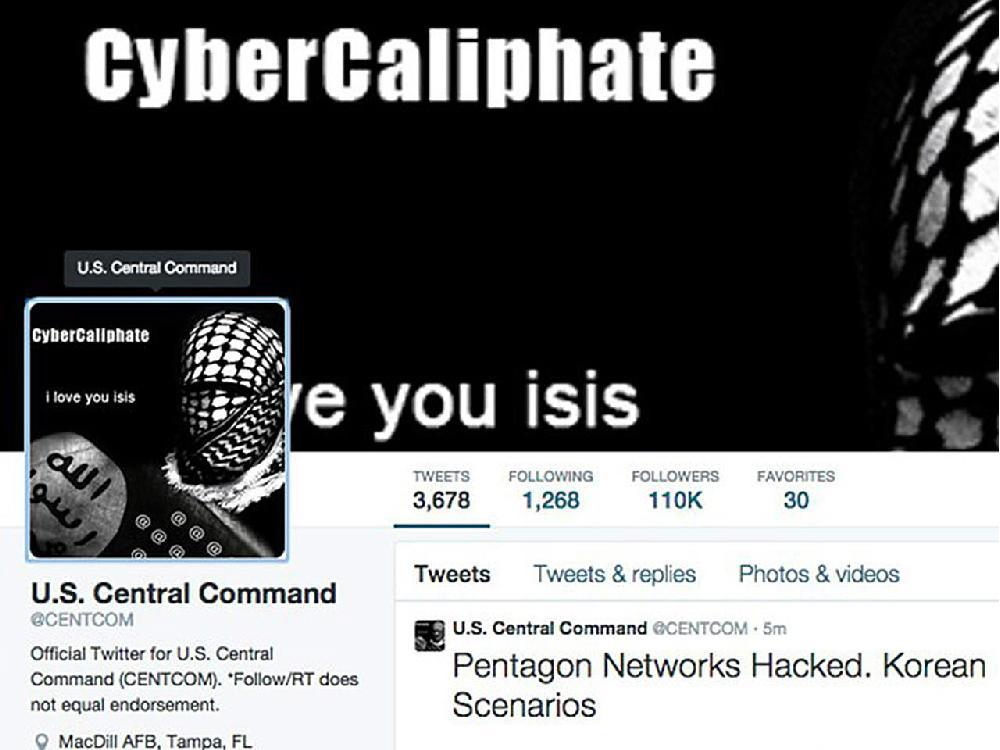 Five things: What the hack of the U.S. military's Twitter account means