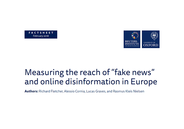 Europe vs fake news and online disinformation