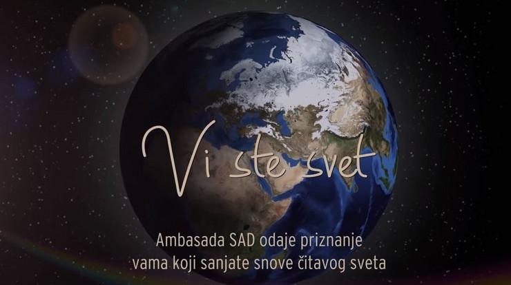 Pogledajte spot koji je američka ambasada pripremila u ČAST SRBIJE (VIDEO)