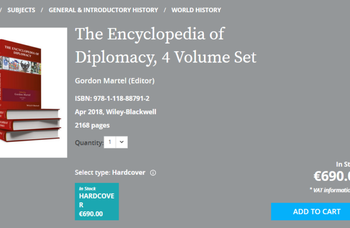 The Encyclopedia of Diplomacy