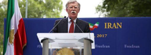 Is Bolton Steering Washington into War with Tehran?