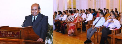 Sri Lankan diplomats urged to boost Sri Lanka's image overseas