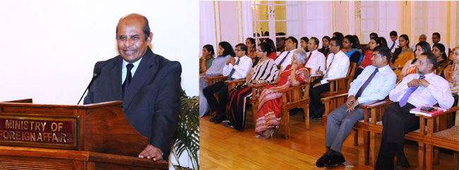 Sri Lankan diplomats urged to boost Sri Lanka's image overseas
