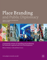 Found on the web: Place Branding and Public Diplomacy (November 2018)