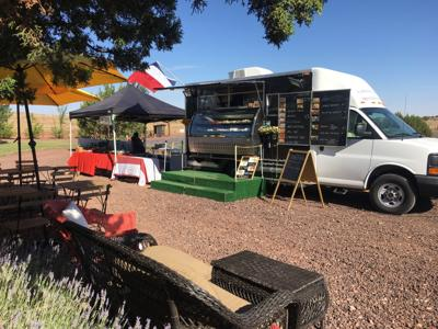Ooh la la: Her French food truck is one of a kind