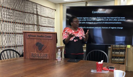ASC Hosts Rodney Lecture on Social Media and Politics in Africa