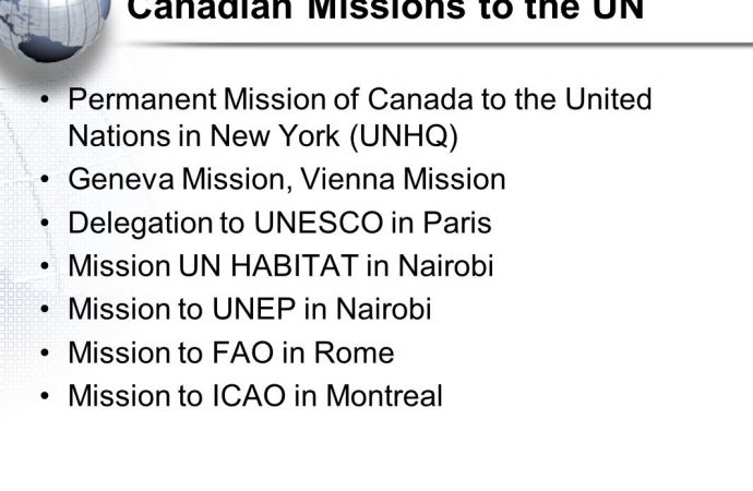 Senior Public Affairs Advisor – The Permanent Mission of Canada to the United Nations in New York