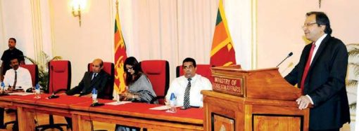Marapana instructs Lankan diplomats to boost image of Sri Lanka overseas