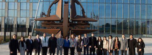 Young Egyptian Diplomats visit NATO HQ