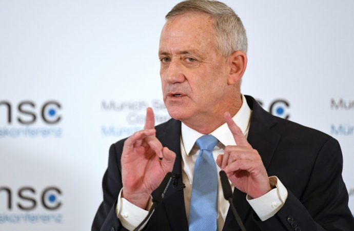 Comment:  Gantz is Telling Anglo Olim We're not Israeli Enough