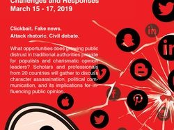 CARP 2019: Character Assassination and Populism: Challenges and Responses