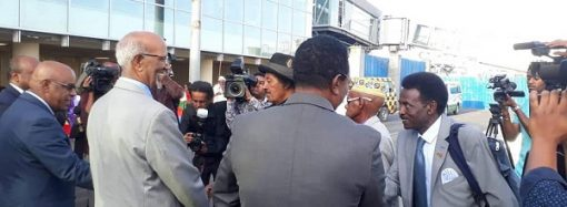 Eritrean Public Diplomacy team arrive in Addis Ababa, concert in 4 cities