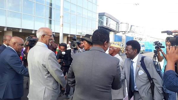 Eritrean Public Diplomacy team arrive in Addis Ababa, concert in 4 cities
