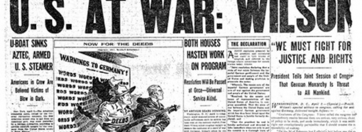 Found on the Web: U.S. Declares War On Germany