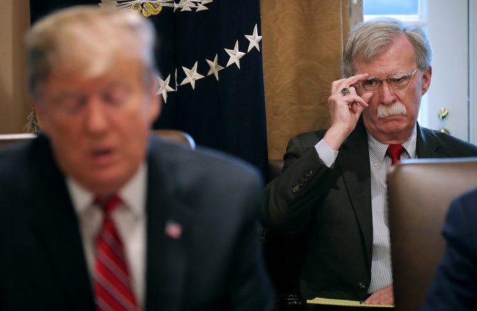 Regime change by tweet? John Bolton hopes so