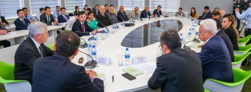 SCO's Public Diplomacy Center holds round table on international relations