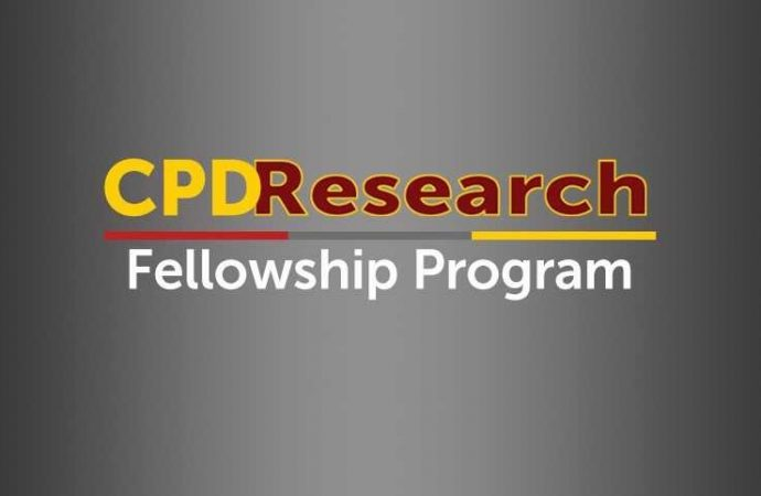 Apply for a 2019-2021 CPD Research Fellowship