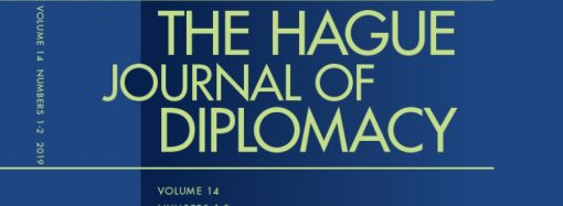 Hague Journal Special Issue [on Public Diplomacy] Published