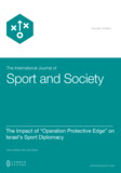"The Impact of ""Operation Protective Edge"" on Israel's Sport Diplomacy"