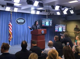 Pentagon marks a year without press secretary briefings
