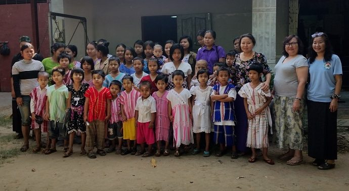 Championing Child Rights in Myanmar