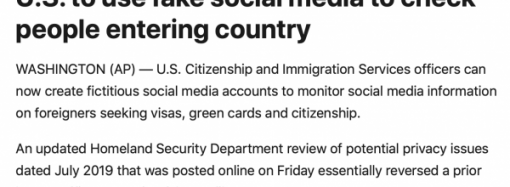 DHS, Social Media, & the Smith-Mundt Act