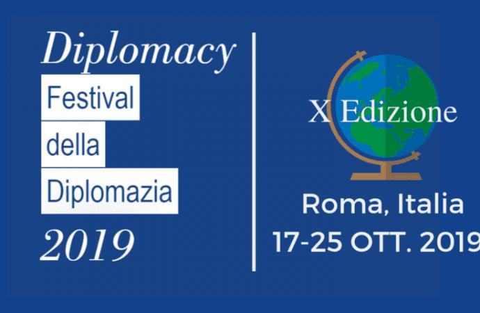 Festival della Diplomazia a Roma, ecco tutti gli appuntamenti