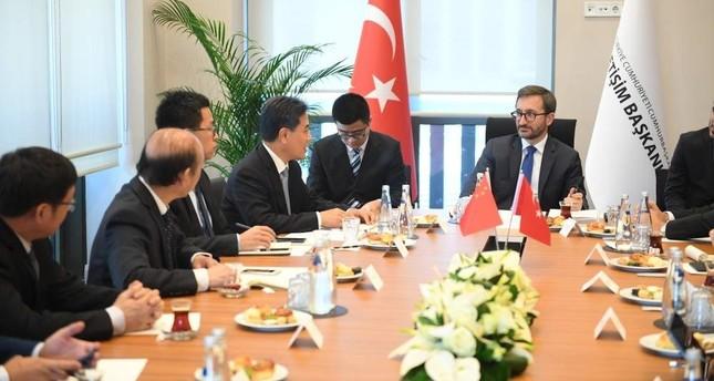 Turkey, China to fight dark propaganda spread through media