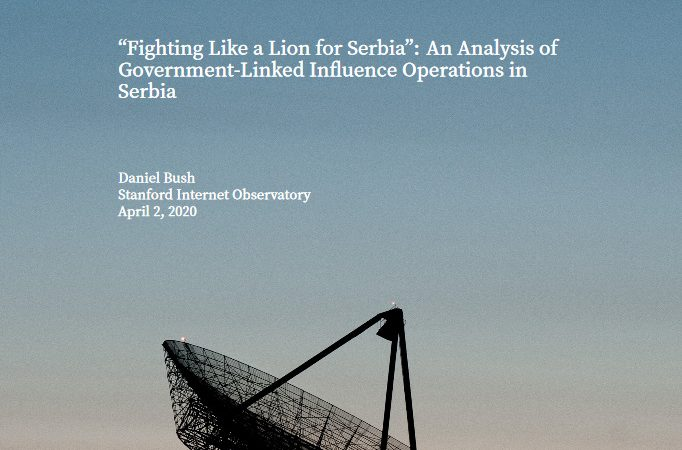 """Fighting Like a Lion for Serbia"": An Analysis of Government-Linked Influence Operations in Serbia"