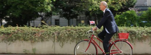 Cycling in Vienna: diplomatic, healthy and green