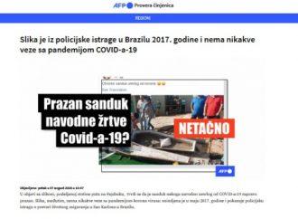 Kako je Fejsbuk u Srbiji počeo borbu protiv lažnih vesti