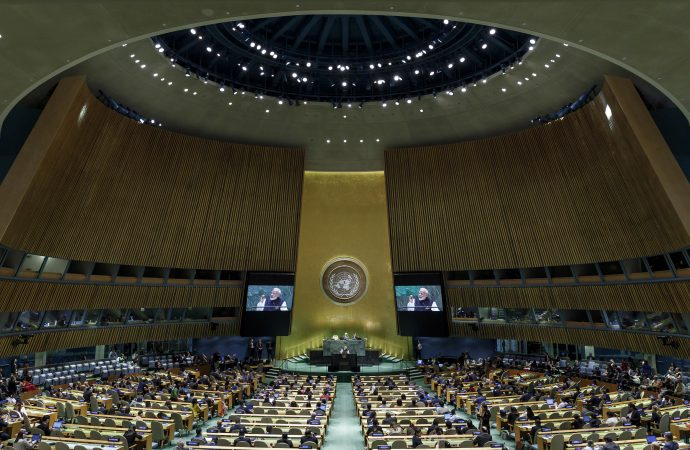 UN general assembly goes virtual: a former ambassador on what that means for diplomacy