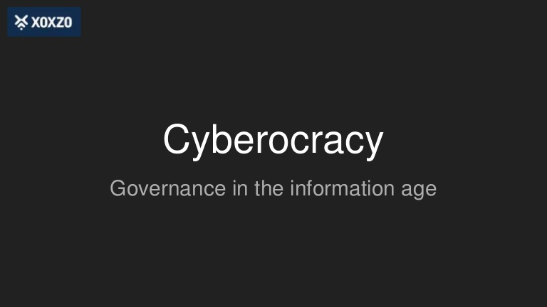 Cyberocracy: from prospects to reality?